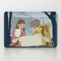 moonrise kingdom iPad Cases featuring Moonrise Kingdom by Celina Frelinghuysen