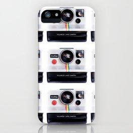 polaroidx9 iPhone Case