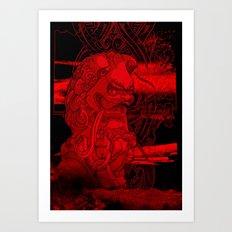 City of Dragon Art Print