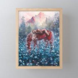 Epona Framed Mini Art Print
