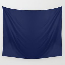 Solid Navy blue Wall Tapestry