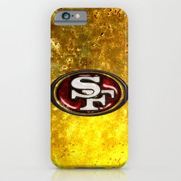 San Francisco 49'ers Logo iPhone Case