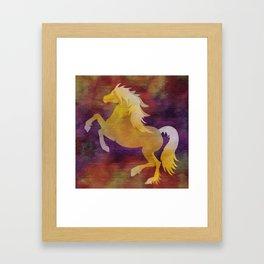 Equus Framed Art Print