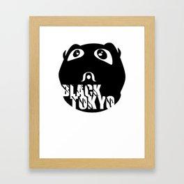 Black-Tokyo (O.G.) Framed Art Print