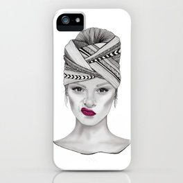 Not Impressed iPhone Case