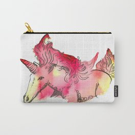 Fire Unicorn Carry-All Pouch