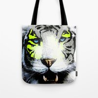 tigger Tote Bags featuring Tigger by yumifuji