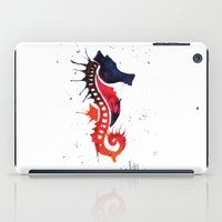 seahorse iPad Cases featuring seahorse by Armyhu