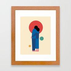 A Moment Framed Art Print