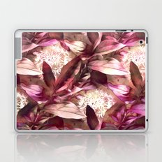 Flowers and Leaves - A Pattern Laptop & iPad Skin