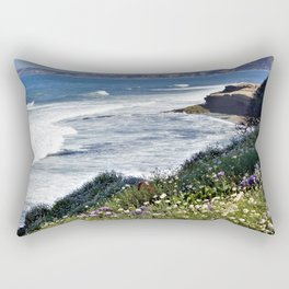 La Jolla Beauty by Reay of Light Photography Rectangular Pillow