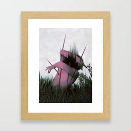 Between Rivers, Rilken No.5 Framed Art Print