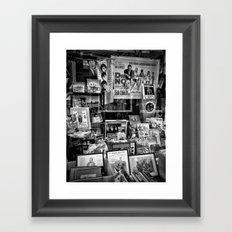 Ephemera Framed Art Print