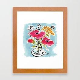 Poppy Impromptu Framed Art Print