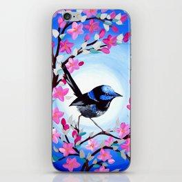 Superb Fairy Wren iPhone Skin
