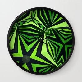 """Clockwork"" kaleidoscope Wall Clock"