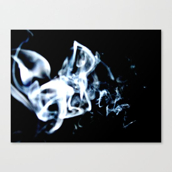 Drifting Smoke Canvas Print
