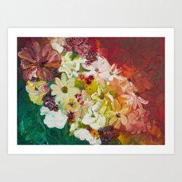 Fun with Flowers Art Print