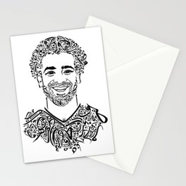 Mohamed Salah Art Stationery Cards