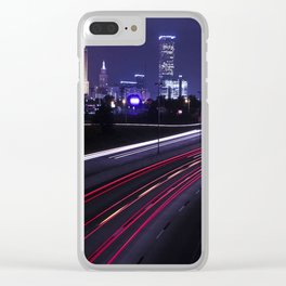 Tulsa Time Clear iPhone Case