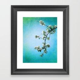 AWAITING SPRING Framed Art Print