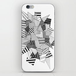 abstract crystal iPhone Skin