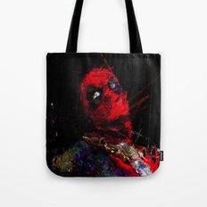 Hero with merc mouth Tote Bag