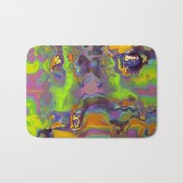 Blurred Bath Mat