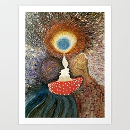 A Cosmic Perspective Art Print