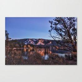 Big Bear Lake Winter Canvas Print