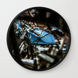 Szuki Blue Wall Clock