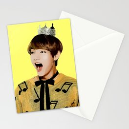 Comic Tae Stationery Cards