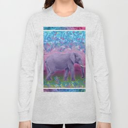 Extraordinary Little (Big) Elephant Long Sleeve T-shirt