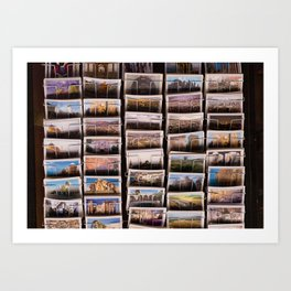 Postcards from Syria Art Print