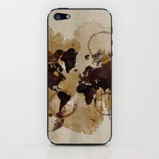 Map Stains iPhone & iPod Skin
