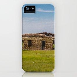 Sod Homestead, Mercer County, ND 3 iPhone Case