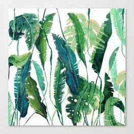 tropical compilation Canvas Print