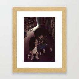 Follow the Mice Framed Art Print
