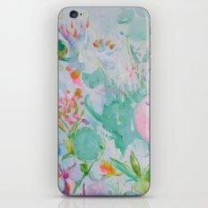 Bubble Garden iPhone & iPod Skin