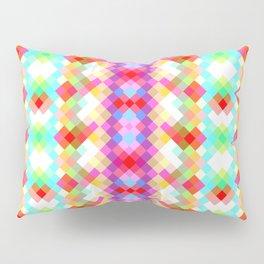 Colorful pixels Pillow Sham