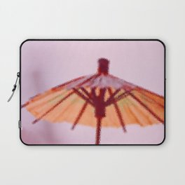 Sunshade behind the Glass Laptop Sleeve