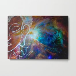 galactic meditation Metal Print