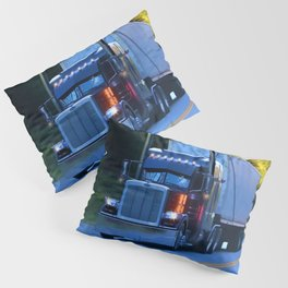 The Revelstoke Run Cargo Truck Pillow Sham