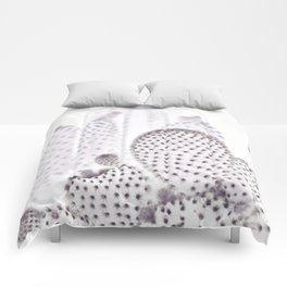 WHITE CACTUS Comforters