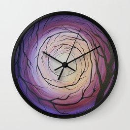 Descent Wall Clock