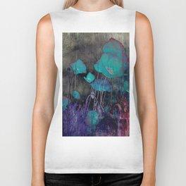 Poppies Abstract Biker Tank