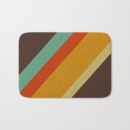 Retro 70s Color Palette Bath Mat