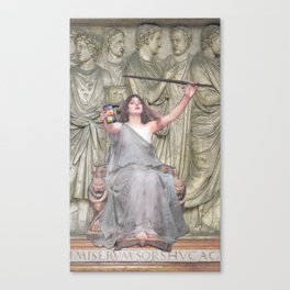 Selfie Stick Canvas Print