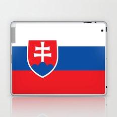 National flag of Slovakia Laptop & iPad Skin
