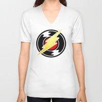 homestuck V-neck T-shirts featuring flash/homestuck by scubaduval